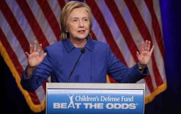 Hillary Clinton Honored At Children's Defense Fund Event