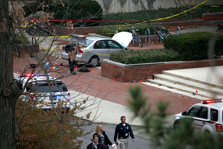 Ohio State University student attacks campus crowd