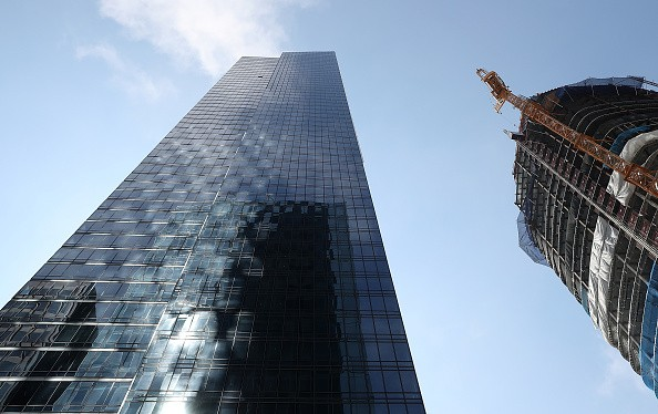San Francisco's Millennium Tower Tilting And Sinking Into Ground