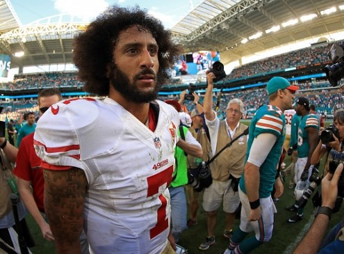 Colin Kaepernick Agrees With Fidel Castro's Education Initiative