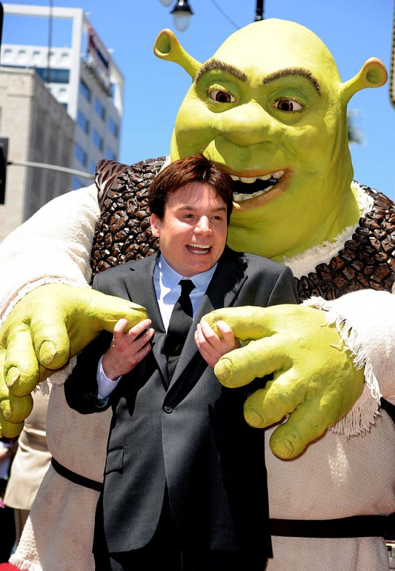 Shrek Honored On The Hollywood Walk Of Fame