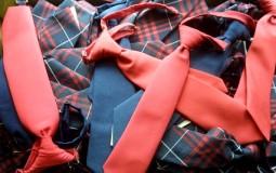 Neckties for school uniforms