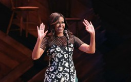First Lady Michelle Obama Hosts Event For Spouses Of Government Leaders During UN General Assembly