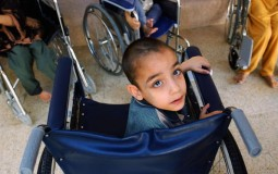 Handicapped children are often deprived of the freedom other children have.