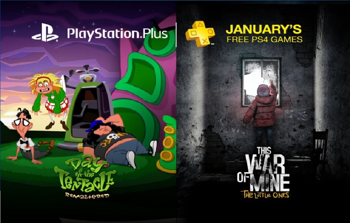 PlayStation Plus - Free PS4 Games Lineup January 2017