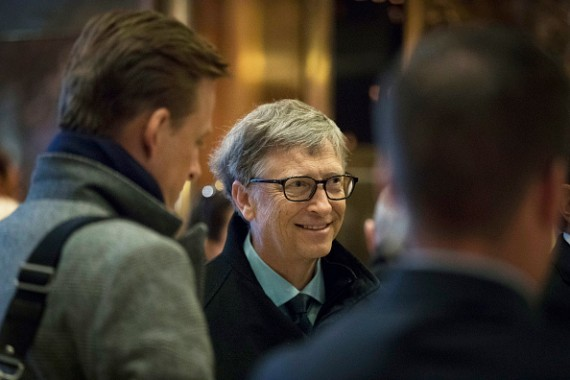 Bill Gates Find That He and Donald Trump Value Education