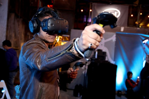Alienware Hosts Virtual Reality And Gaming VIP Party During E3, Powered By NVIDIA And Intel, At 3D Live Studio in Los Angeles, CA on Monday, June 13, 2016