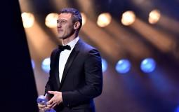 Luke Evans In GQ Men Of The Year Award 2016 Show