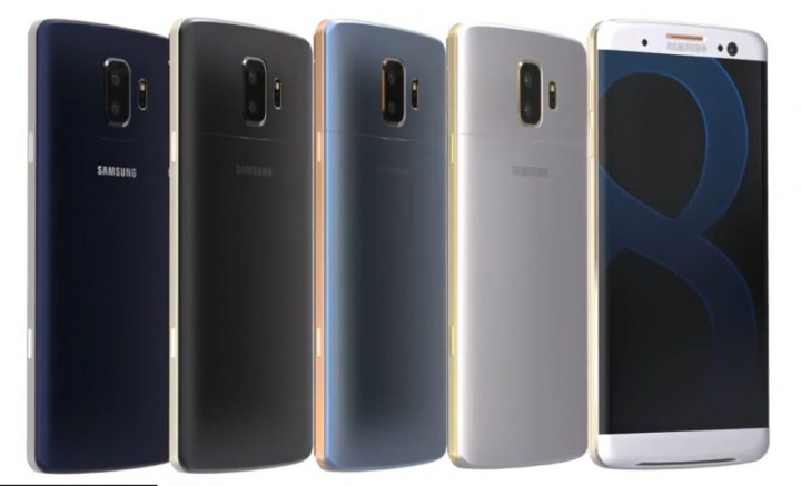 Galaxy S8 Revealed In First Leaked Image?
