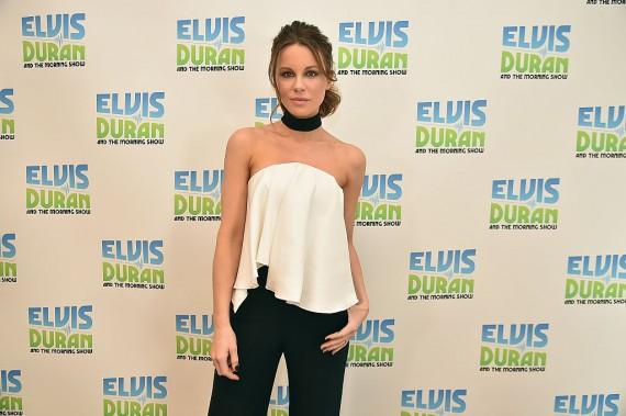 Kate Beckinsale Visits 'The Elvis Duran Z100 Morning Show'