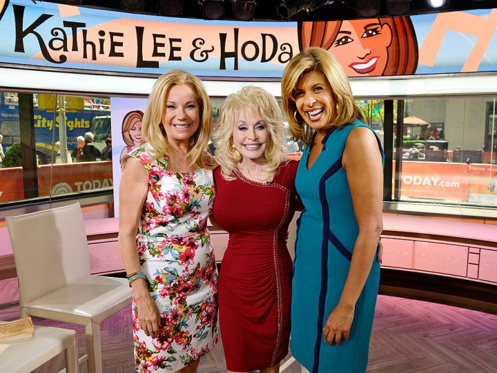 TODAY Show Hosts with Dolly Parton