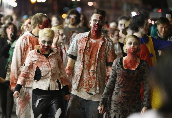 A zombie apocalypse may result to the extinction of the human race