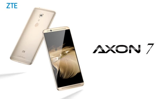 zte axon pro nougat think has