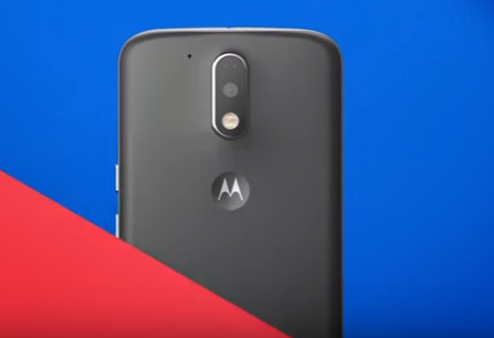 Moto G4 Plus seen in commercial video