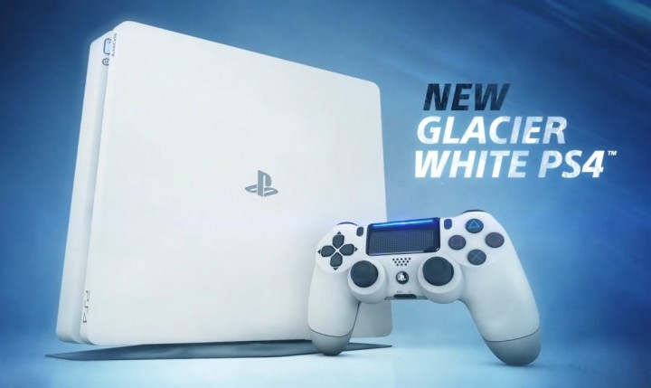 Glacier White PS4 Slim Trailer