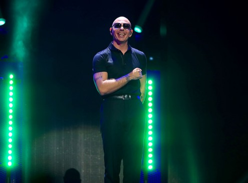 Pitbull Promotes STEAM During Palm Beach State College Fundraising Event