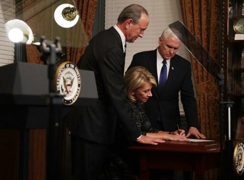 Senate Confirms Betsy DeVos As U.S. Education Secretary