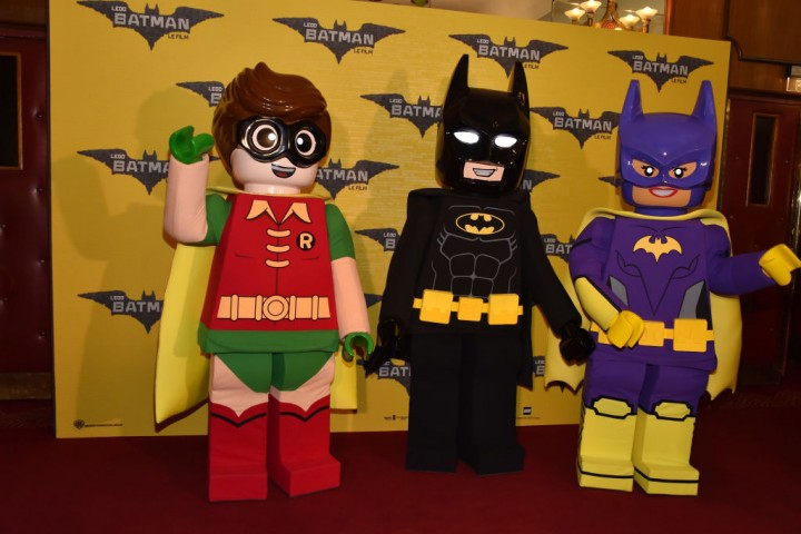 039;Lego Batman&#039 Paris Premiere At Cinema Le Grand Rex