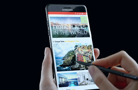 Galaxy Note 8 is said to feature immersive 4K display