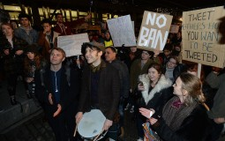 Protests on immigration ban