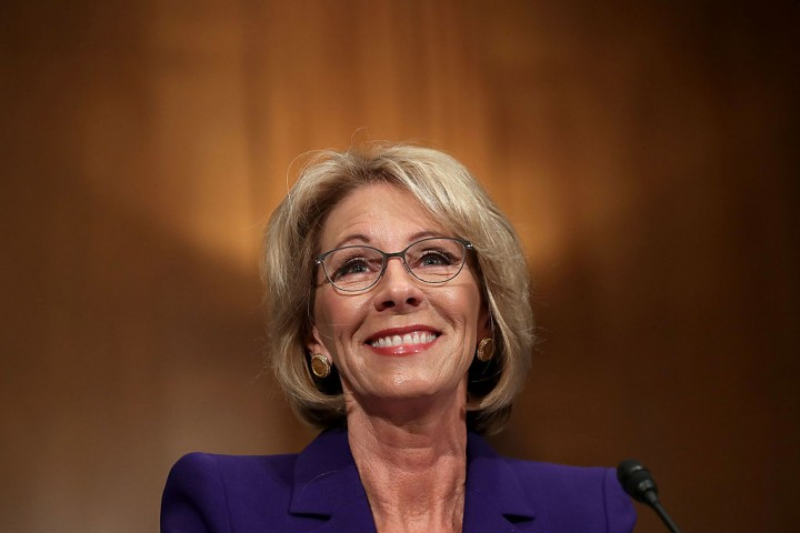 Hip-hop group: Betsy DeVos is bad for the inner cities