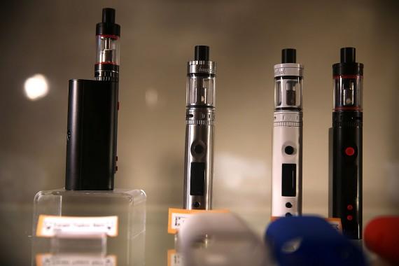 E-cigarettes display