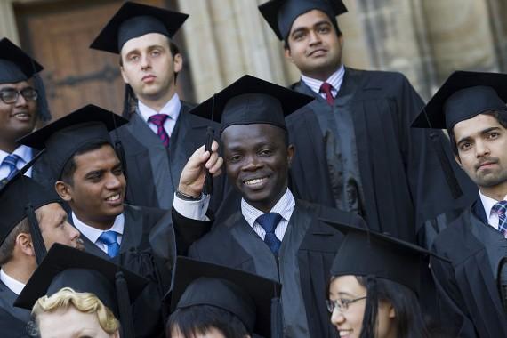 International Students college graduation