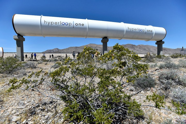Elon Musk's High Speed Train Concept Company Hyperloop One Holds First Public Test Run
