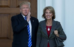 Betsy DeVos admitted that she never thought about becoming Education Secretary