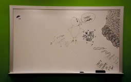 Whiteboards have been banned by Michigan State University on the doors of dorm rooms