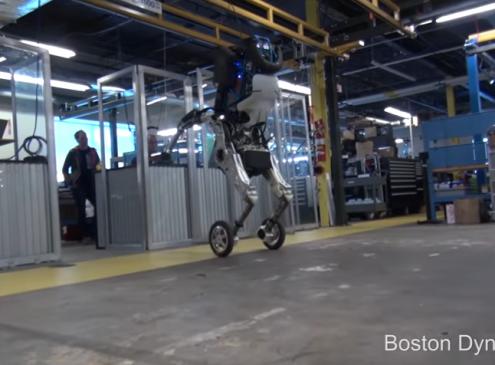 Meet Handle, Boston Dynamics' Newest Robot