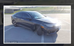 A Honda turned to a self driving car