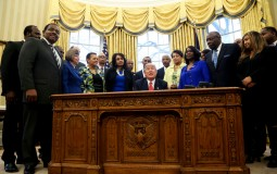 Howard University president and other HBCU leaders met with President Trump