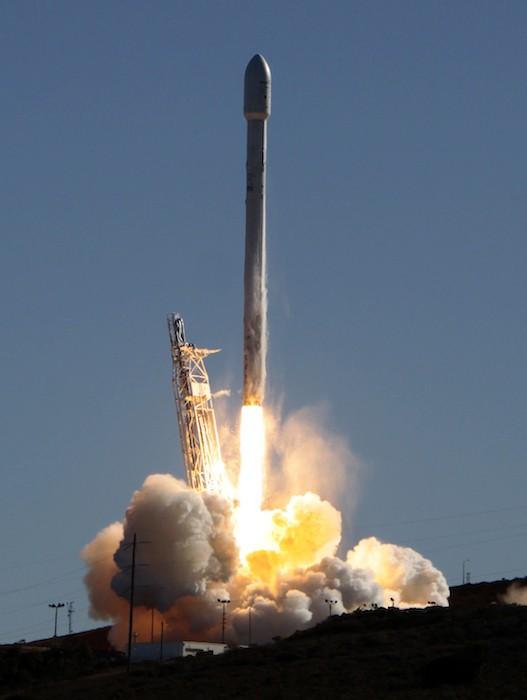 Flacon 9 Rocket