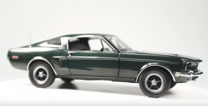 The original Ford Mustang from Bullitt has been found in Mexico
