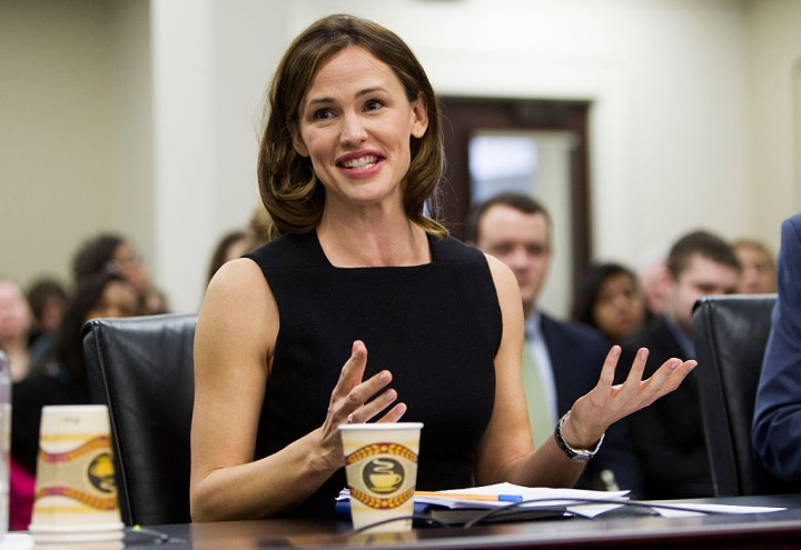 Jennifer Garner Advocates Early Childhood Education For 'Save The Children' In DC [VIDEO]