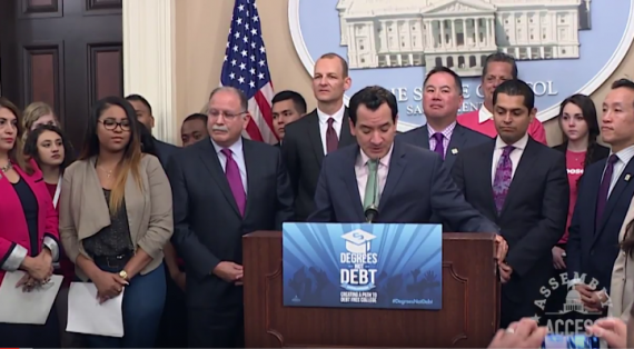California announces Degrees Not Debt proposal for college students
