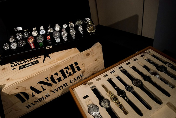 Sotheby's Open Auction On One Of The World's Largest Private Swatch Watch Collections
