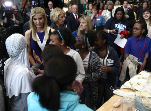 Ivanka Trump And DeVos Use 'Hidden Figures' To Encourage Women To Pursue STEM Education