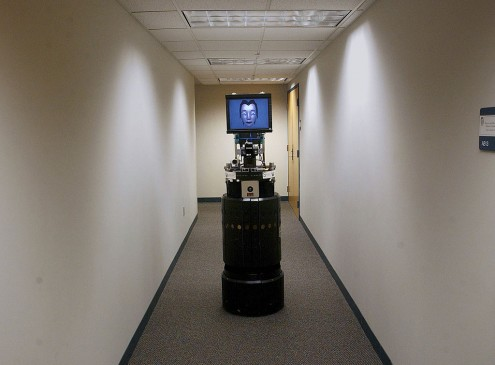 First Mobile Interactive Robot Help Home-Bound Students In Cheatham County