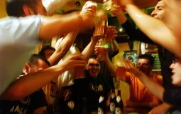 College students engage in binge drinking