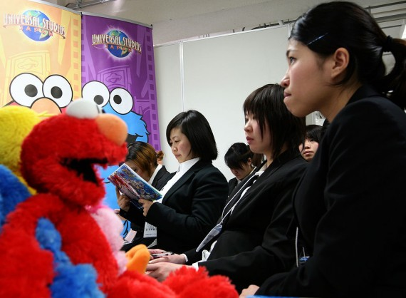 Chinese college students in the US