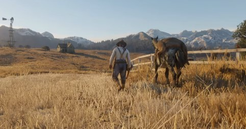 """The previous trailer shows off prairie and canoe – and there will be boat travels too, in """"Red Dead Redemption 2"""""""