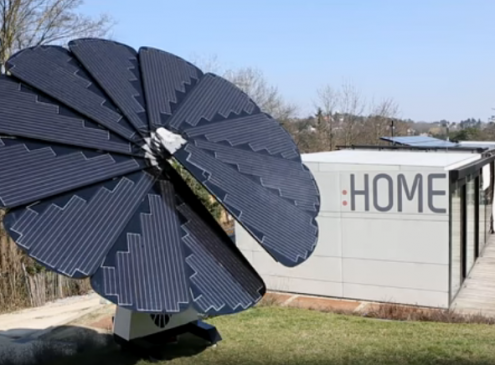 Your Home And EV Could Be Powered By A 'Smartflower' [Video]