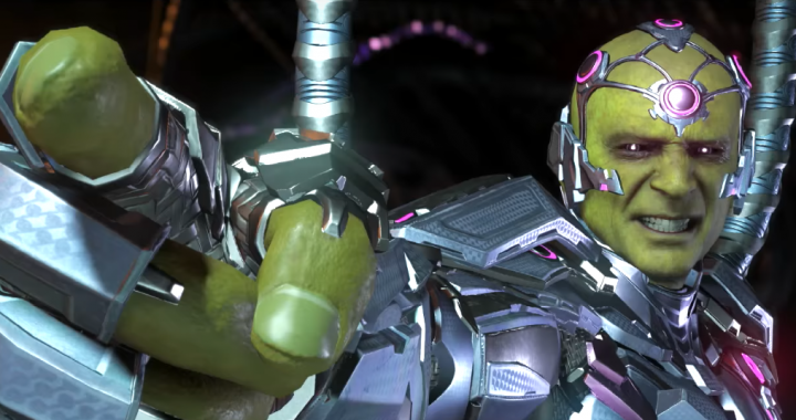 Injustice 2 Brainiac gameplay revealed