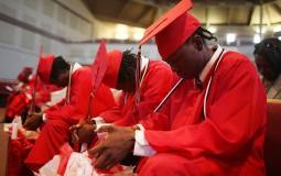 Graduating black college students