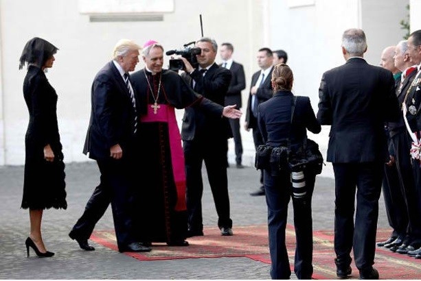 Trump meets with Pope for first time