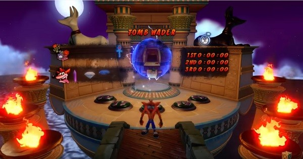 See Crash Bandicoot 3's Tomb Wader Remastered