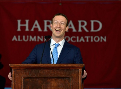 Mark Zuckerberg Speaks At Harvard University: Says Finding One's Purpose Is Not Enough [VIDEO]