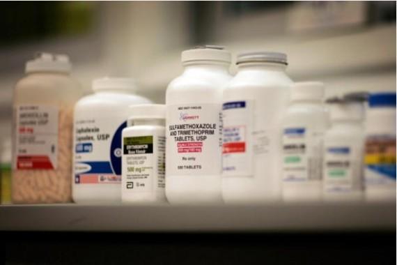 Antibiotics On Display
